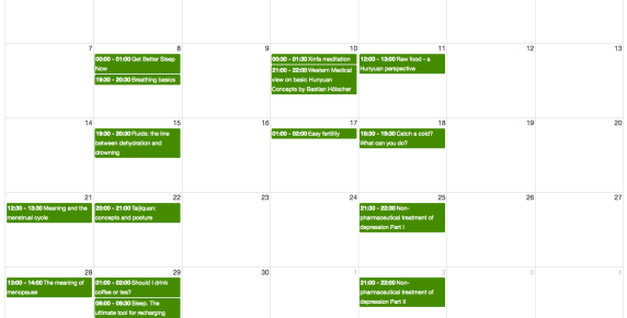 Xinfa Nov 16 calendar
